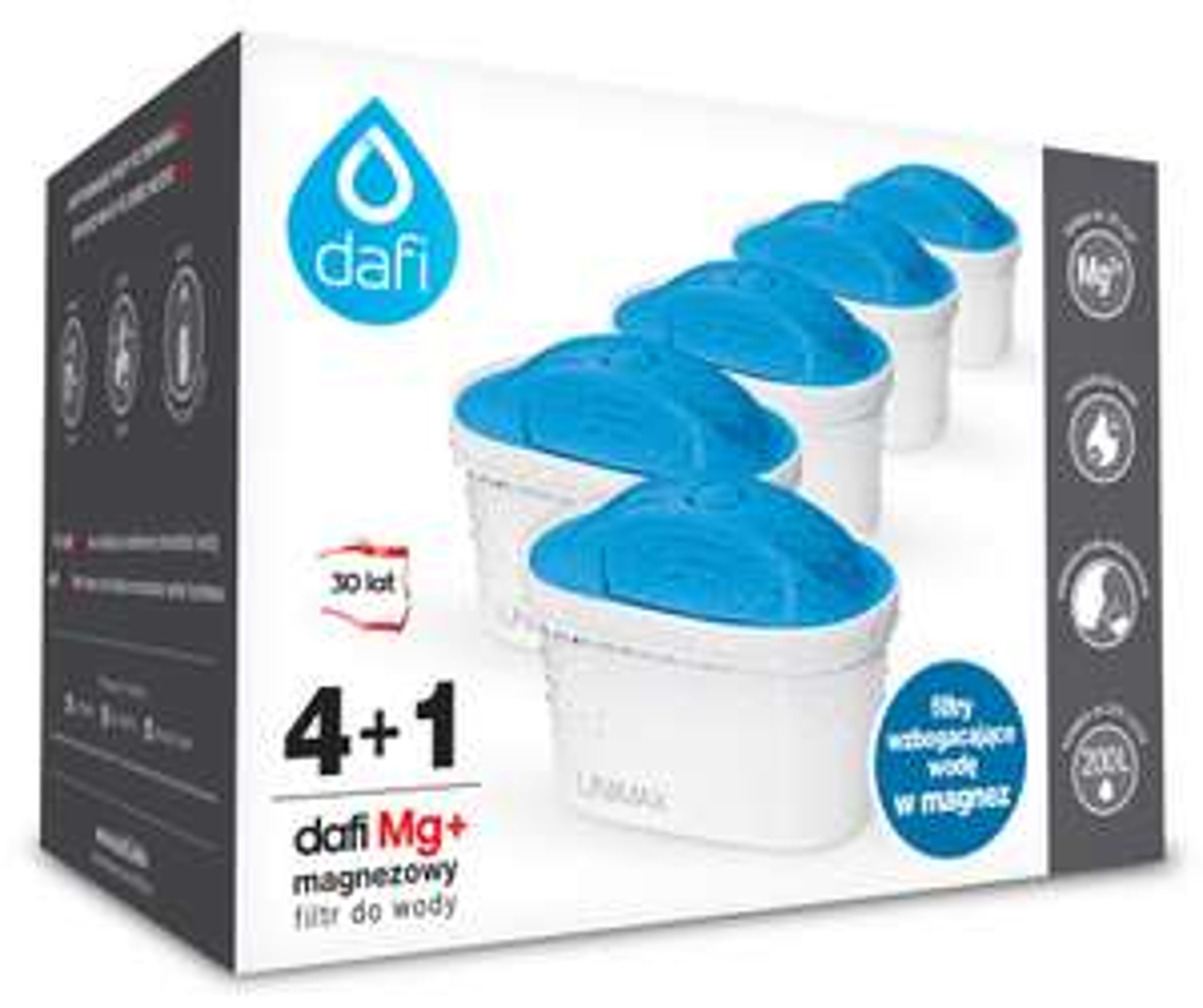 Filtr magnezowy Dafi Unimax 5szt. (4+1) oraz standard (4+1 Mg), w Carrefour (stacjonarnie- produkt z gazetki)