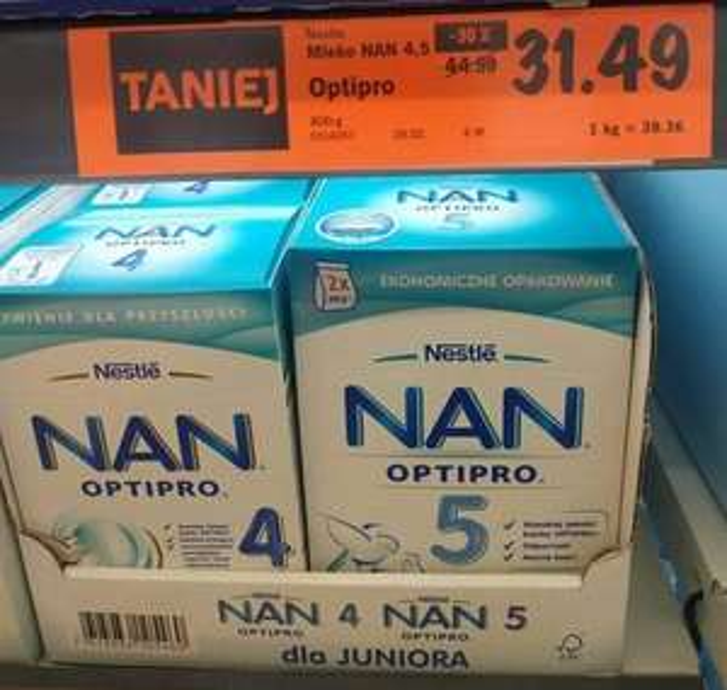 Lidl mleko NAN Optipro
