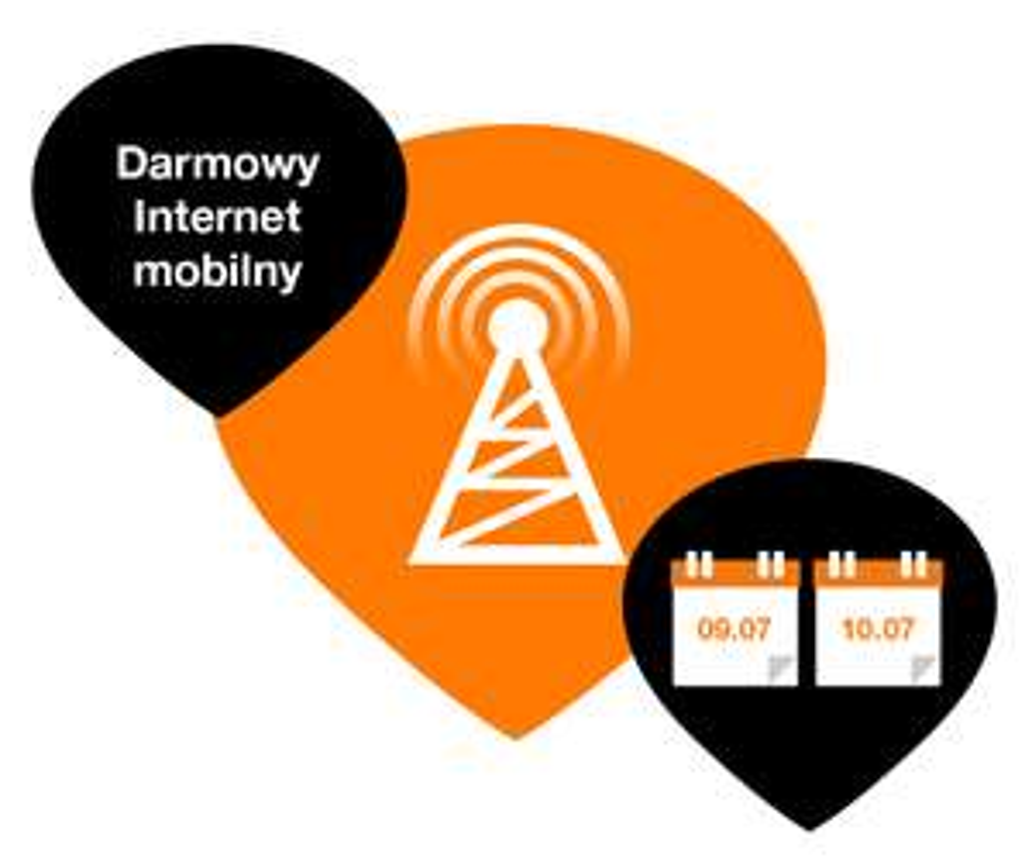 Internet mobilny ZA DARMO przez weekend! @ Orange