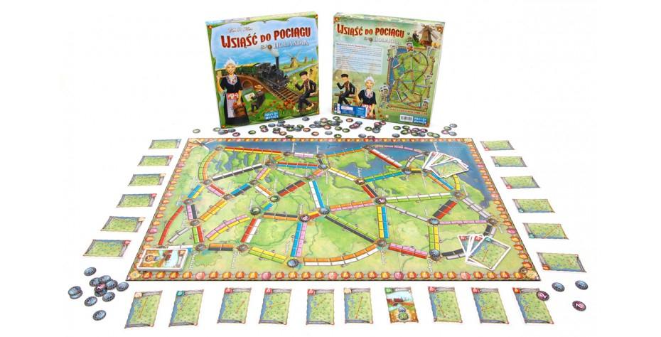Wsiąść do Pociągu: Holandia - dodatek do gry planszowej