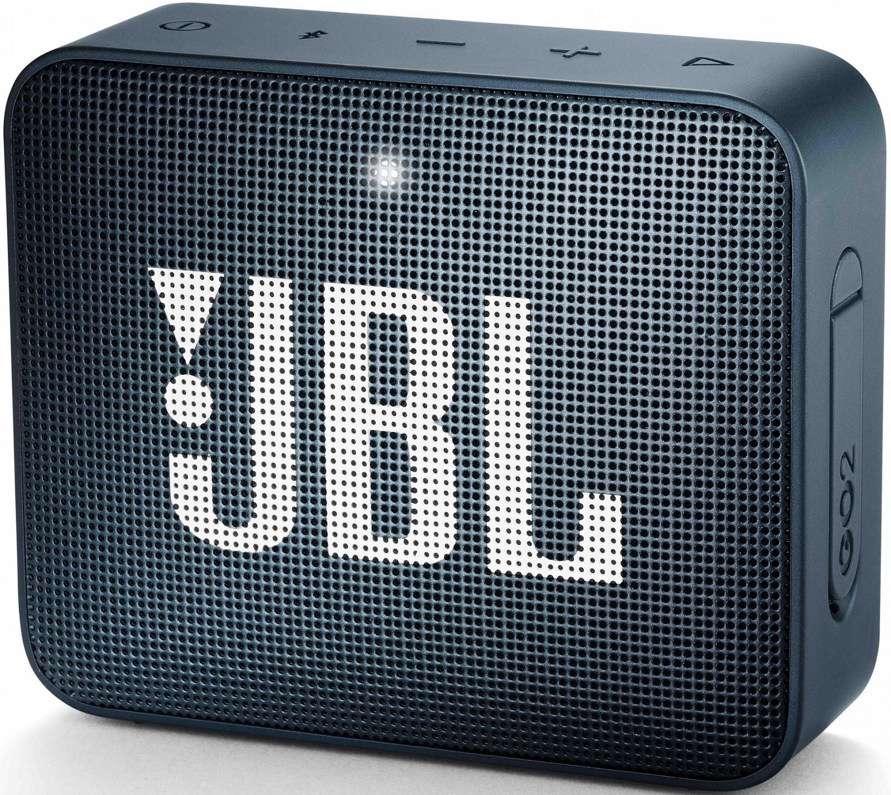 Głośnik bezprzewodowy JBL Go 2 Granatowy (czerwony, pomarańczowy, zielony) w promocyjnej cenie, odbiór 0 zł