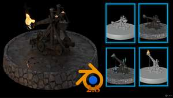Kurs: Blender 2.8 Model Texture Animation & Simulation Full Guide - Udemy