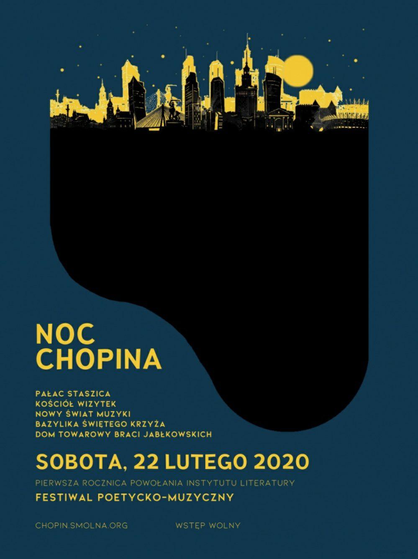 (Warszawa) Noc Chopina, darmowe recitale i koncerty 22 lutego