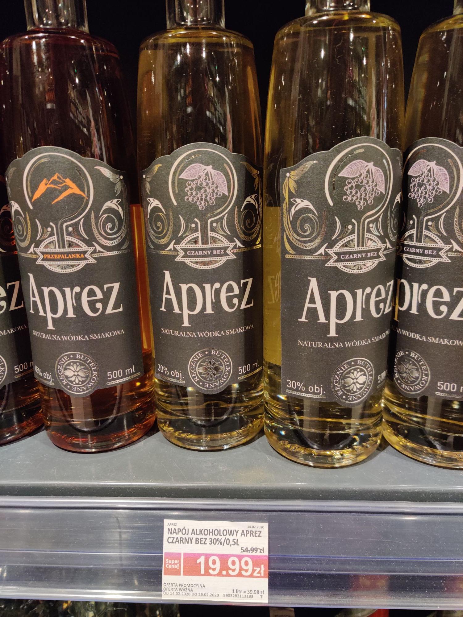 Aprez - Naturalna wódka smakowa