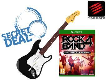 Secret deal: Mad Catz Rock Band 4 dla XBOX ONE z gitarą @ iBood