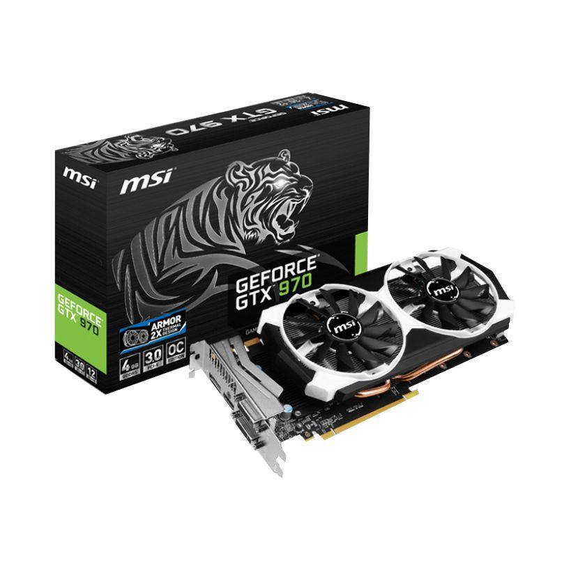 Karta graficzna MSI GeForce GTX 970 OC 4GB DDR5 @ Agito.pl