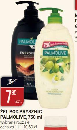 Żel pod prysznic Palmolive 750 ml, wybrane rodzaje, a także woda mineralna Primavera za 6 pak 4,95 zł, w bi1 od 26.lutego