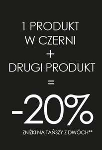 -20% rabatu na drugi tańszy produkt @ Promod