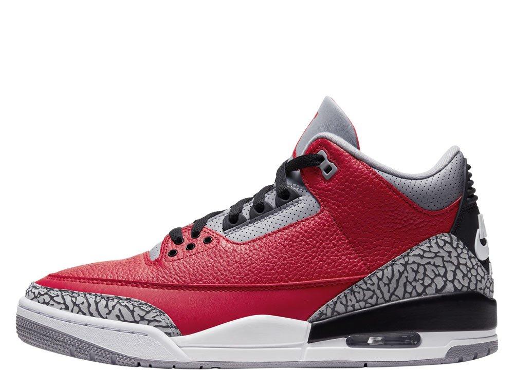 Jordan 3 / III Red Cement