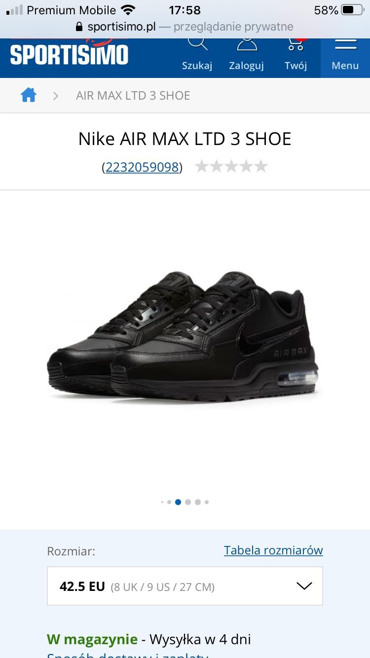 Nike AIR MAX LTD 3 SHOE