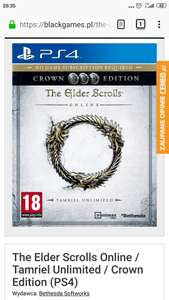 The Elder Scrolls Online / Tamriel Unlimited / Crown Edition (PS4)
