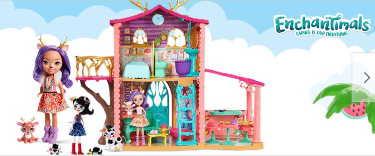 Promocja na zabawki (zestawy!) ENCHANTIMALS -20%