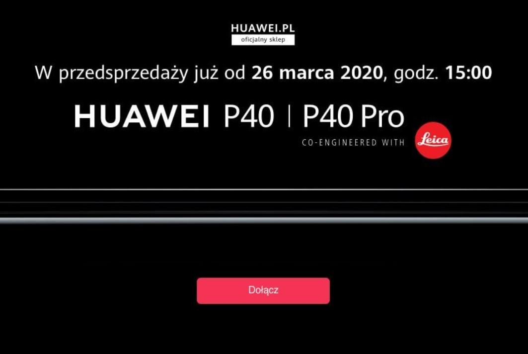 Rabat -50 zł na wszystko @HUAWEI.PL (min. kwota 200 zł) za zapis do newslettera