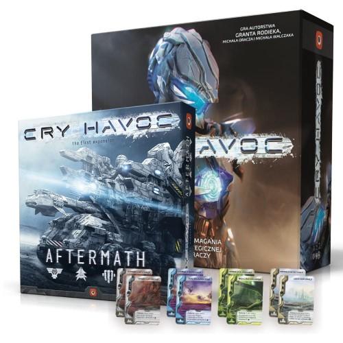 Gra planszowa Cry Havoc + 2 dodatki w super cenie 179 zł + kw
