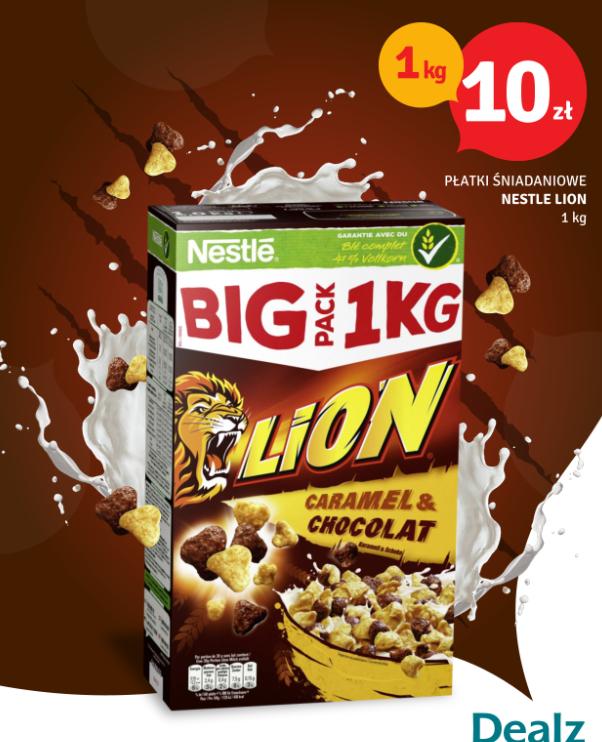 Płatki śniadaniowe Lion Nestle 1KG Sklep DEALZ