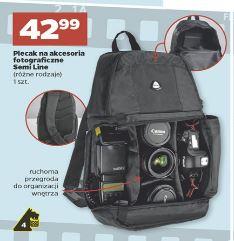Plecak fotograficzny Semi-Line za 42,99zł @ Netto