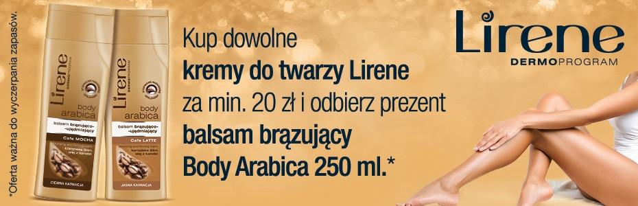 Balsam+fluid GRATIS przy zakupie kremu Lirene za min.20zł @ Strefa Urody