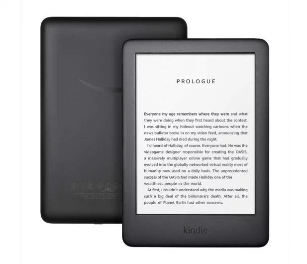 Kindle 10, biały lub czarny