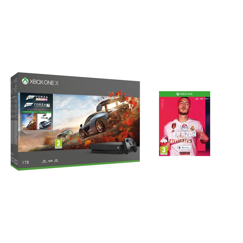 Promocja na: Konsole MICROSOFT Xbox One X + Forza Horizon 4 + Forza Motorsport 7 + FIFA 20