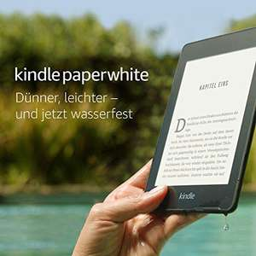 Czytnik Kindle Paperwhite IV (czarny, bez reklam, wodoodporny z 8GB) z darmową wysyłką @ Amazon