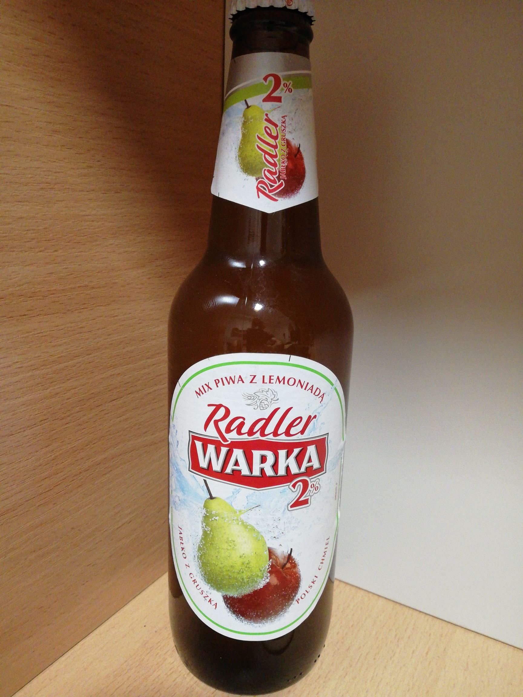 Piwo Warka Radler jabłko z gruszką
