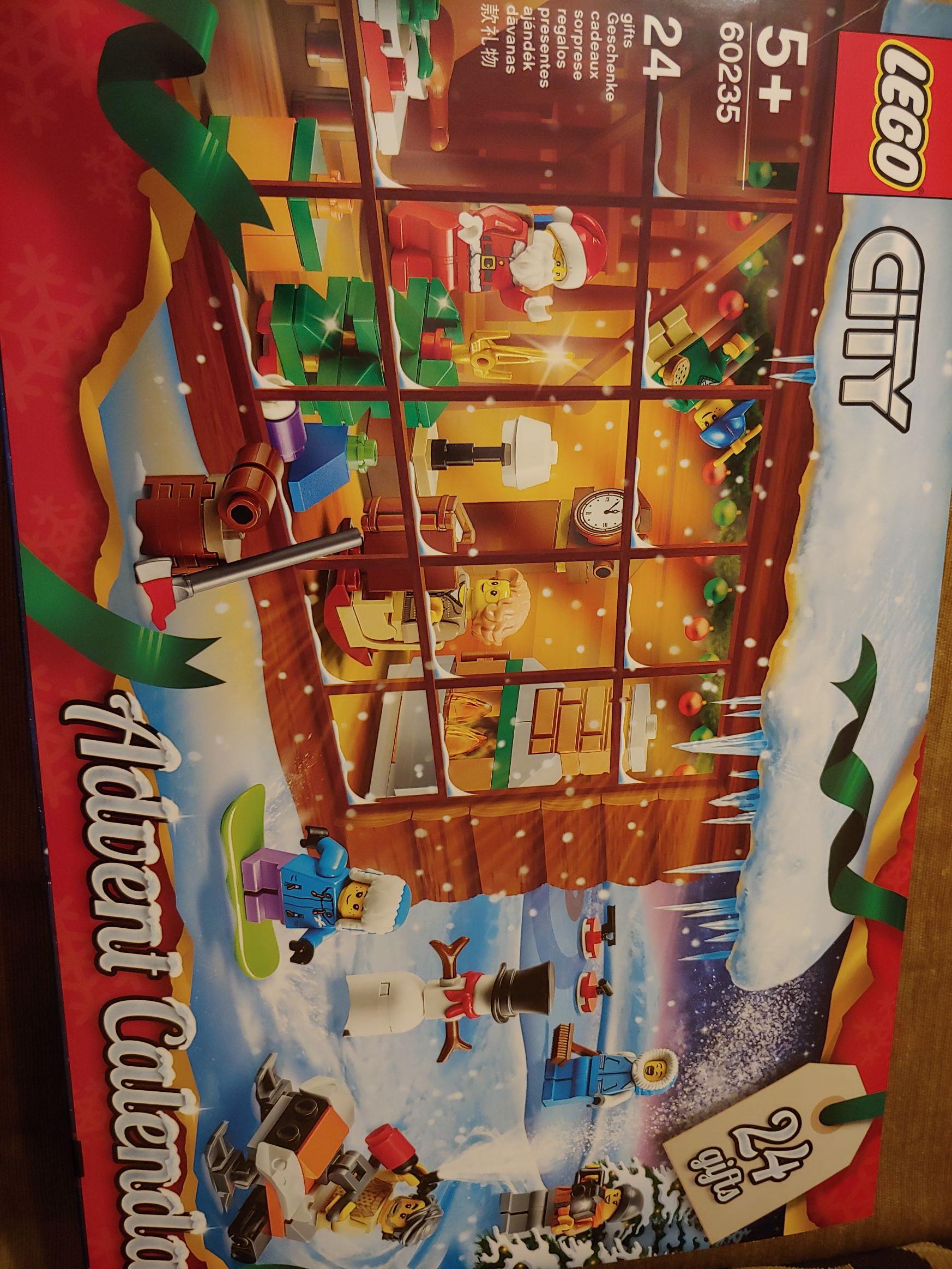 LEGO 60235 kalendarz adwentowy Tesco