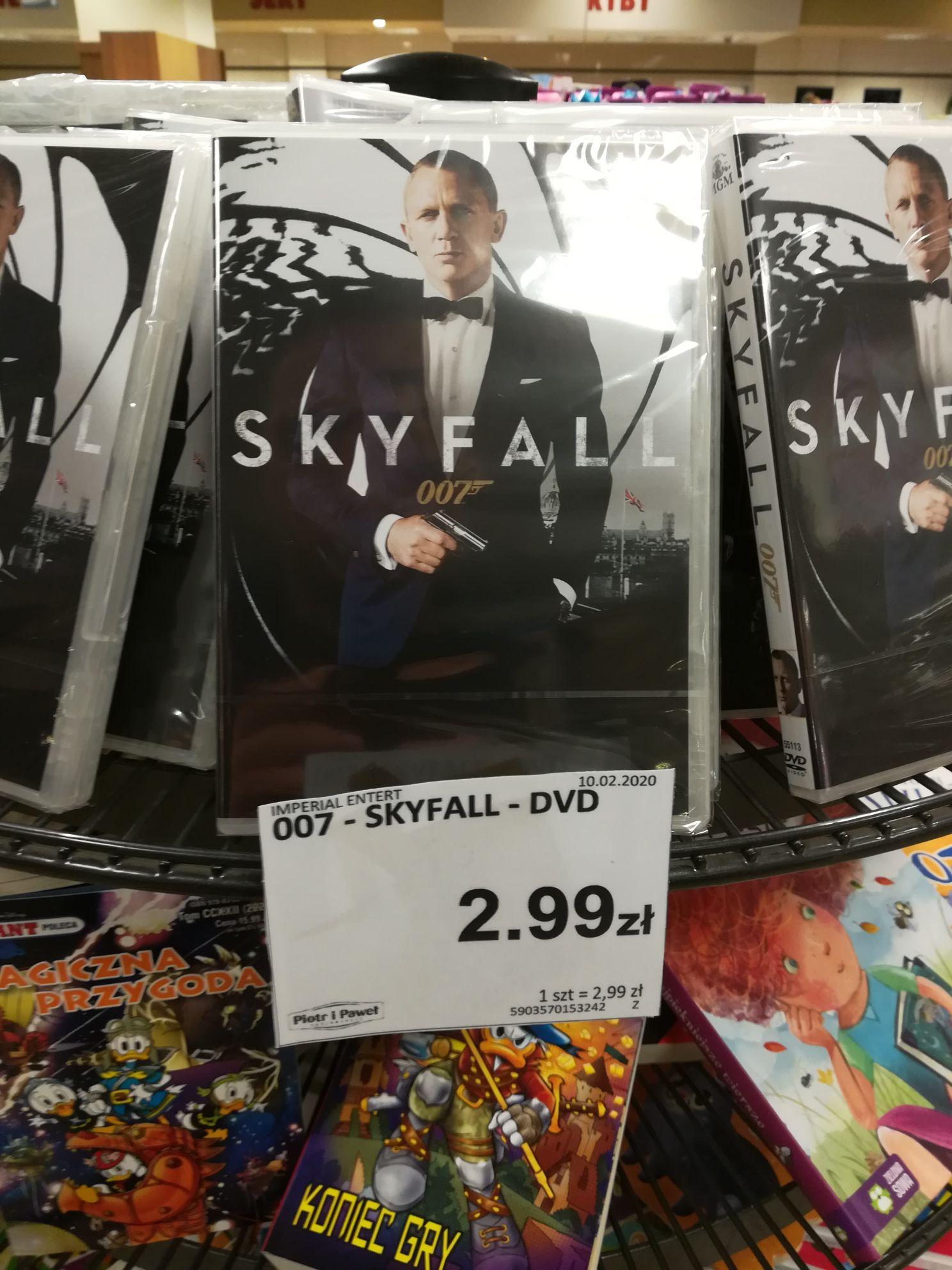 Skyfall DVD, Piotr i Paweł Suchy Las