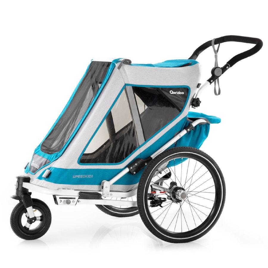 Przyczepka rowerowa Qeridoo Speedkid 1 za 1482zł @ Pink or Blue