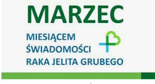 Bezpłatne badania przesiewowe Raka Jelita Grubego 2020 - Marzec miesiącem świadomości / Ogólnopolska