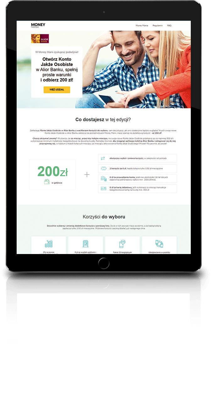 Premia dla Ciebie: 200 zł do wydania na co chcesz! z Alior Bank