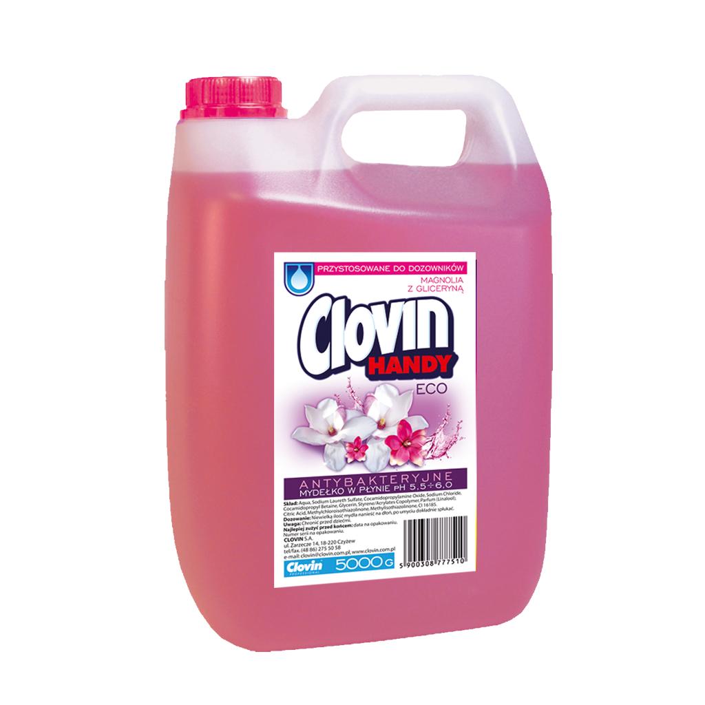 Mydło Clovin Handy Eco 5 l – 5 zapachów do wyboru (prosto od producenta) + 8% rabatu za zakupy po zapisaniu się do newslettera
