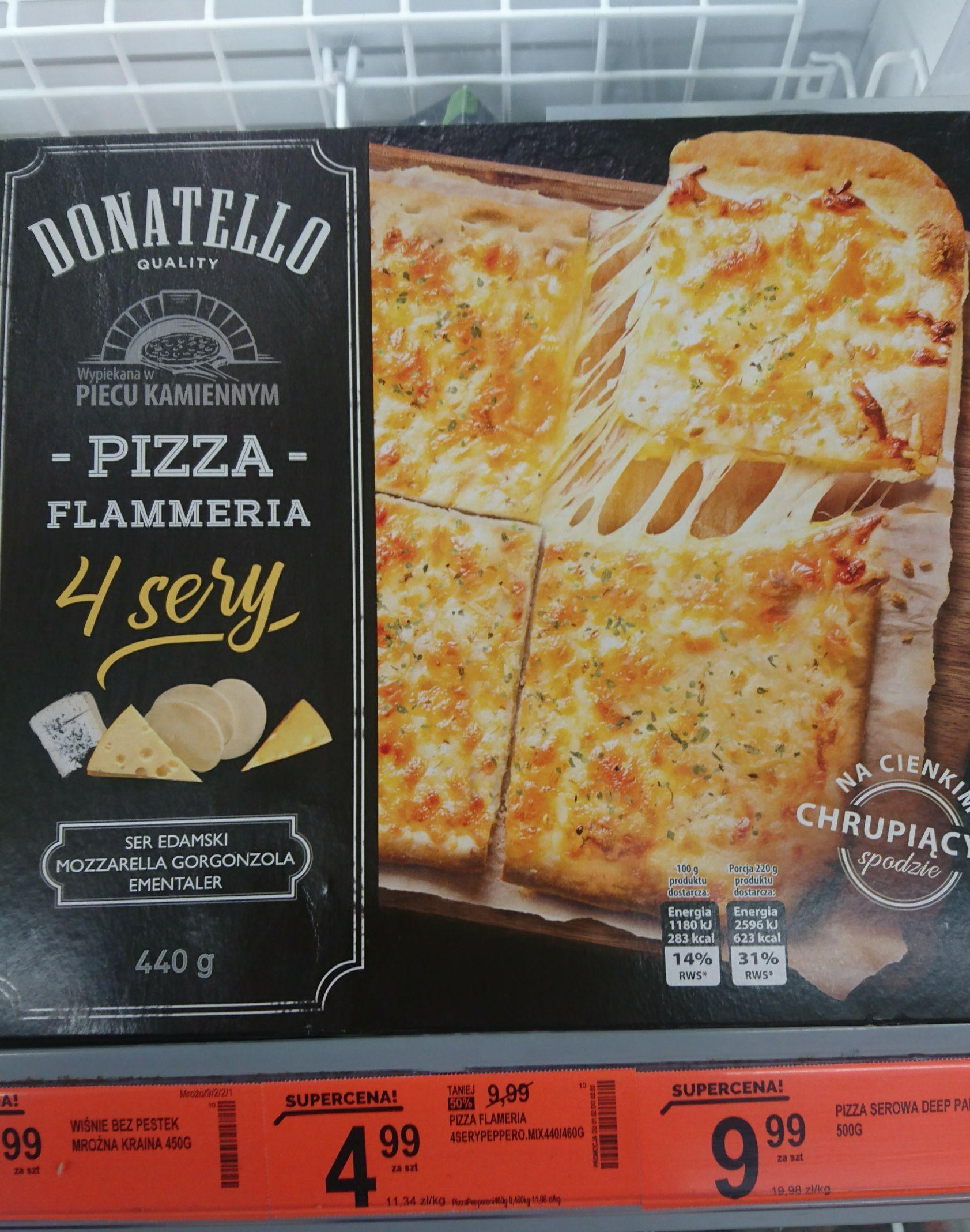 Pizza Flammeria 4 sery 440g