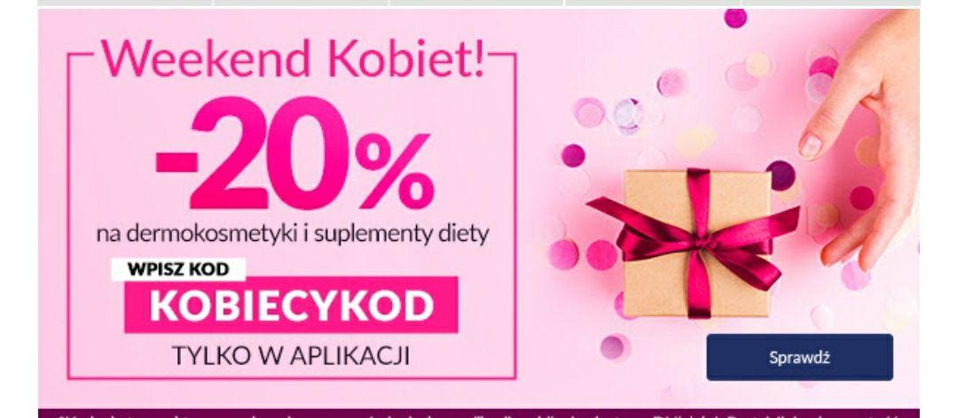 DOZ.pl -20% z okazji dnia Kobiet