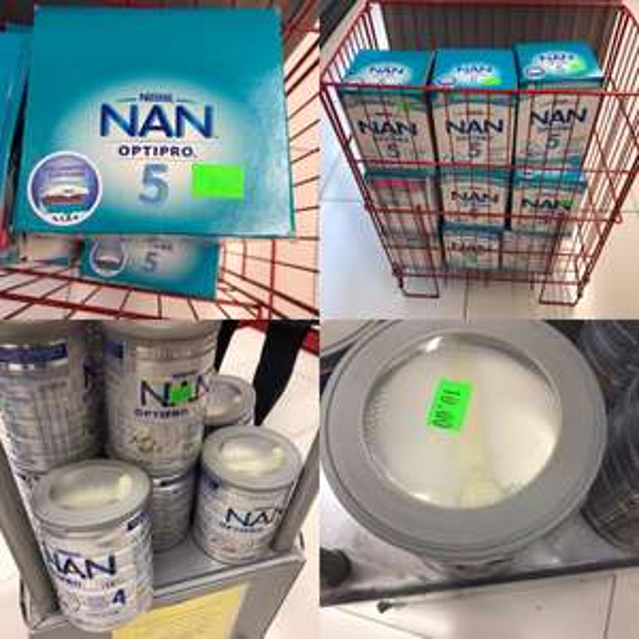 Mleko modyfikowane NAN optipro 4/5 Poznan