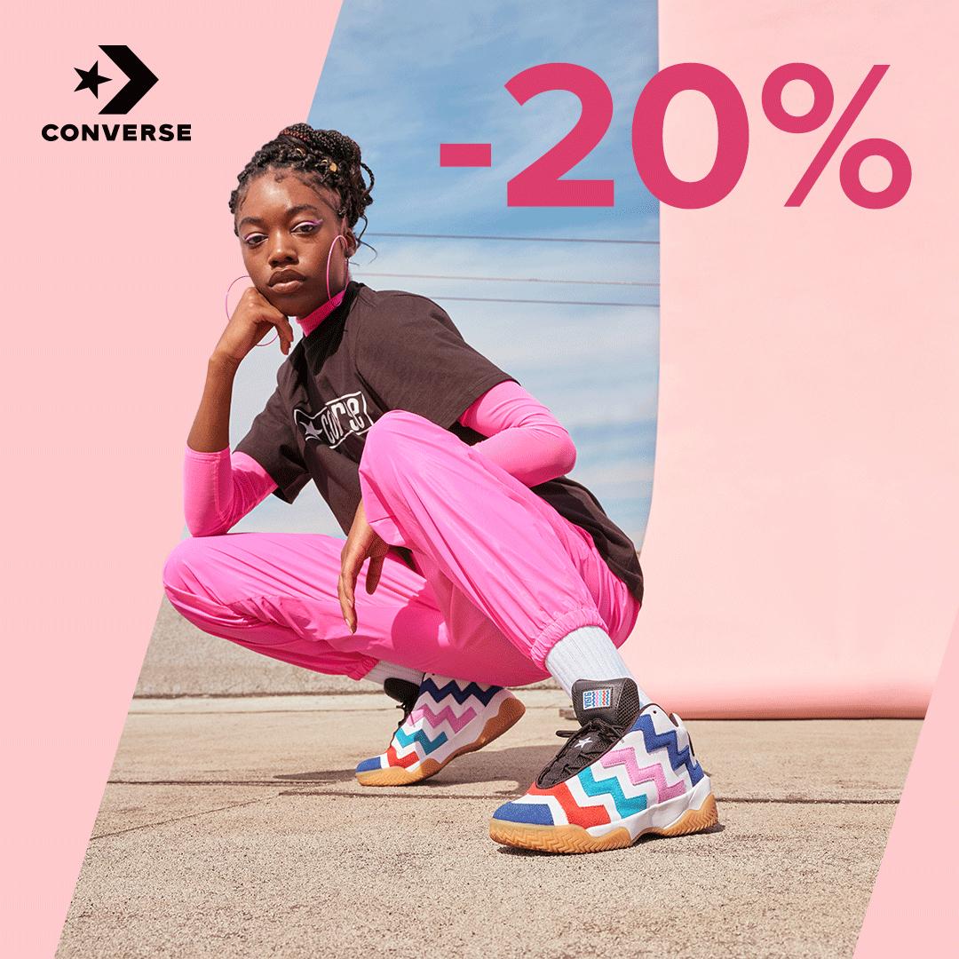 Promocja Converse -20%