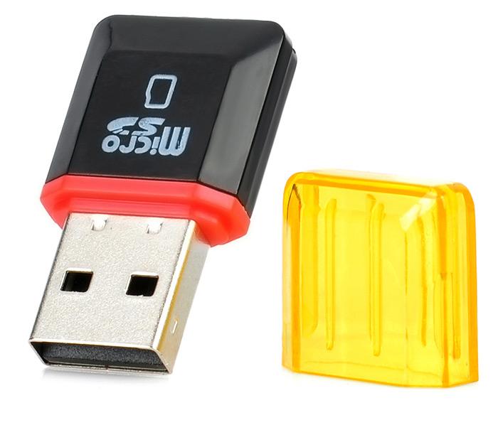 Miniaturowy czytnik kart pamięci SD za 42gr (tylko przez aplikację mobilną) - GearBest