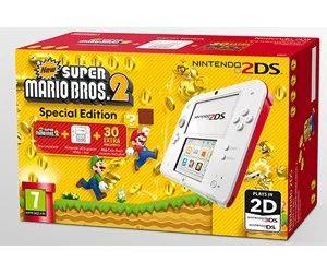 Nintendo 2DS z grą New Super Mario Bros 2
