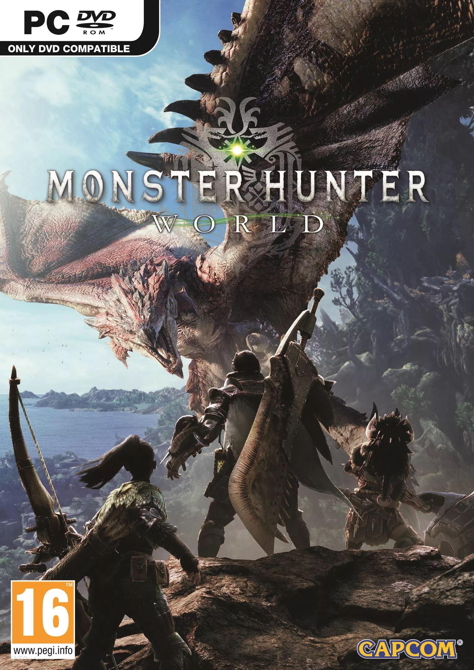 Monster Hunter World na PC w CDKeys za ~64zl