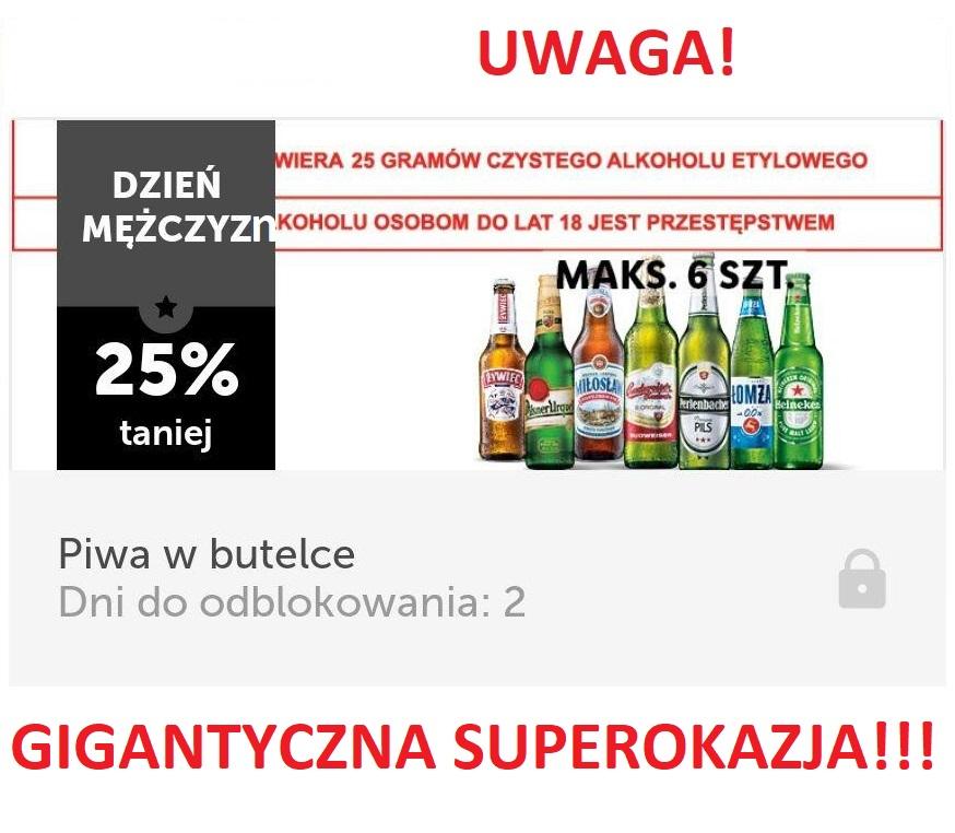 Dosłownie WSZYSTKIE piwa w szkle 25% taniej! Tylko w LIDL PLUS
