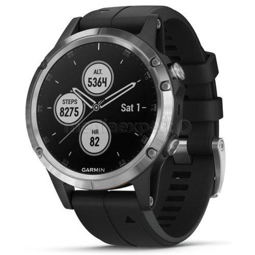 Zegarek sportowy GARMIN Fenix 5 Plus Czarny