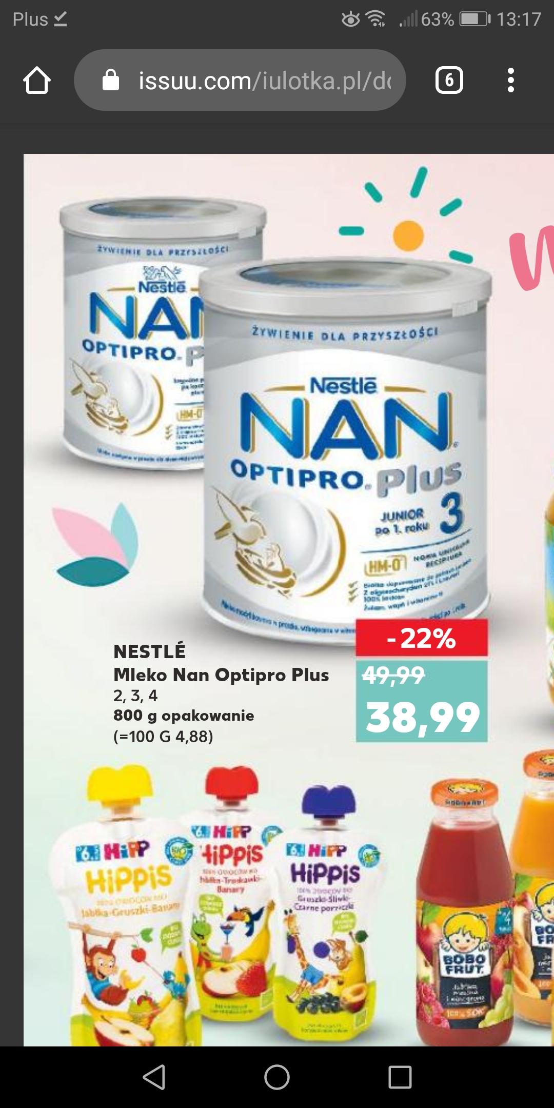Kaufland Nan optipro plus