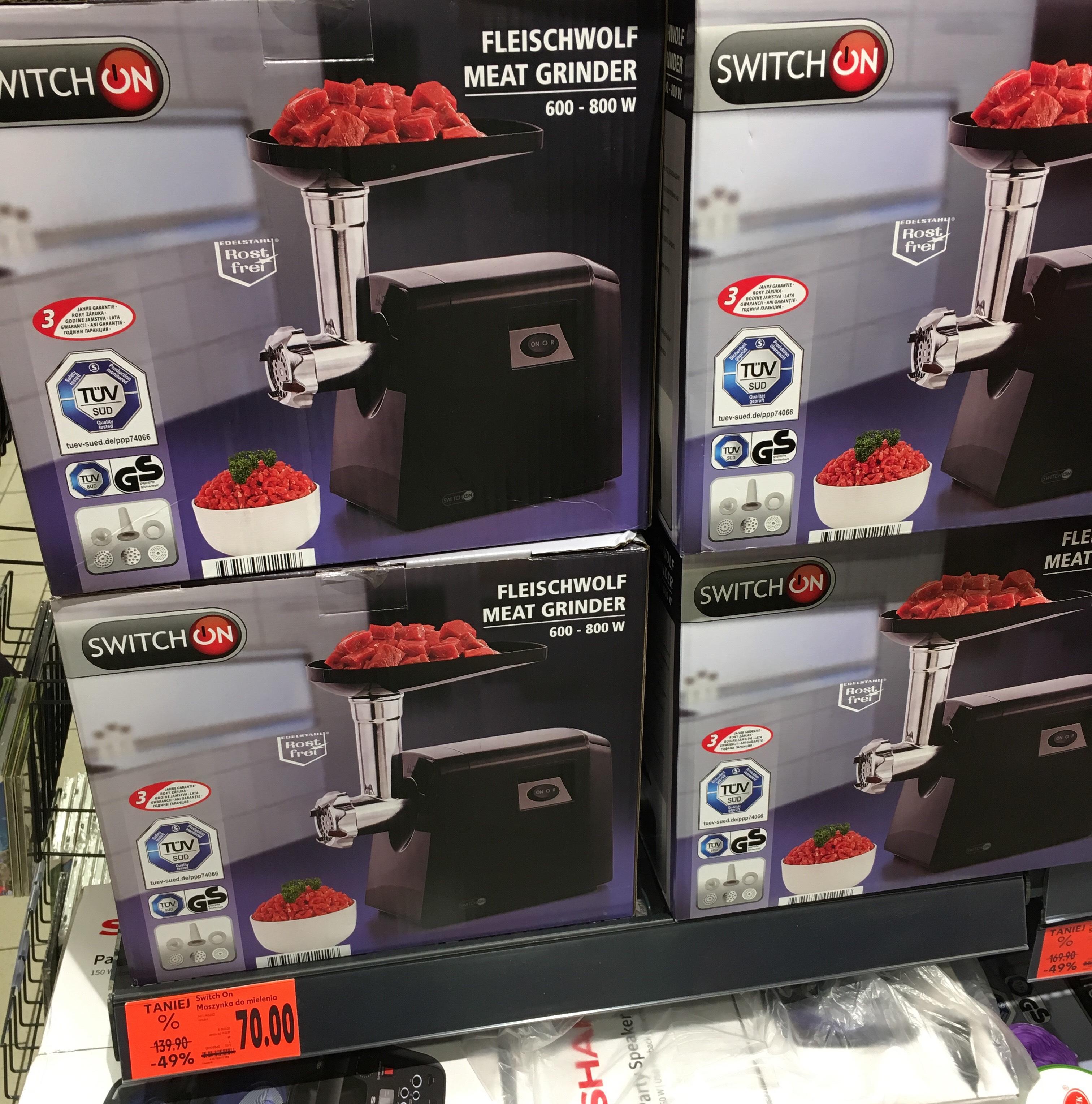 Maszynka do mielenia mięsa SwitchOn - Kaufland