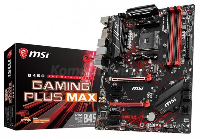 Płyta główna MSI B450 Gaming Plus Max