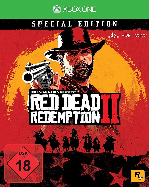 Red Dead Redemption 2: Special Edition - XBOX ONE (100.22 zł + reszta do wydania)