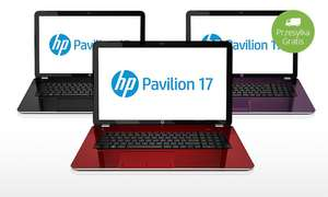 "Laptop HP z ekranem 17,3"", 8 GB RAM, dyskiem 1 TB i systemem Windows 8 @Groupon"