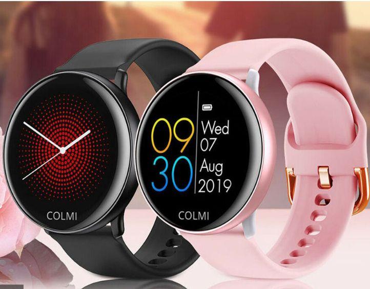 COLMI SKY2 Inteligentny zegarek Dotykowy pulsometr Sportowy zegarek $31,59