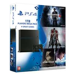 PS4 1TB Players Mega Pack (4 gry) w GAME (UK)