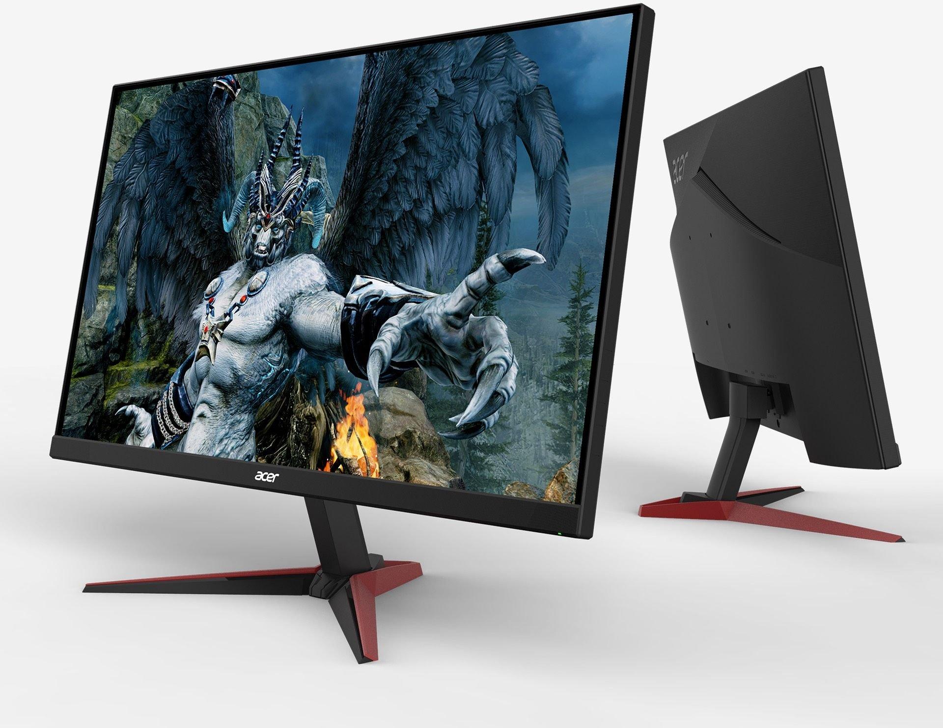 Monitor Acer Nitro VG240Ybmiix (IPS, FullHD, ZeroFrame) @Morele