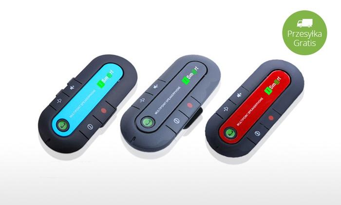iSmart – samochodowy zestaw głośnomówiący Bluetooth  @Groupon