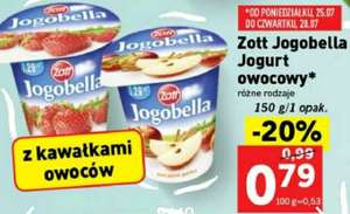 Jogobella w Lidlu